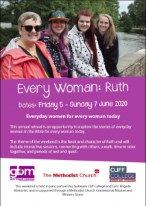 Ruth retreat flyer image