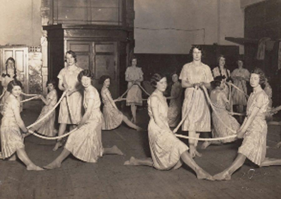 Girl's dancing Irish history