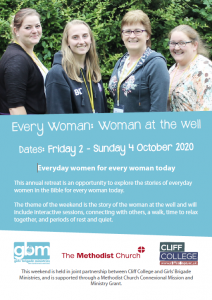 Woman at the Well retreat flyer