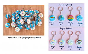 Jessica Smith's keyring designs
