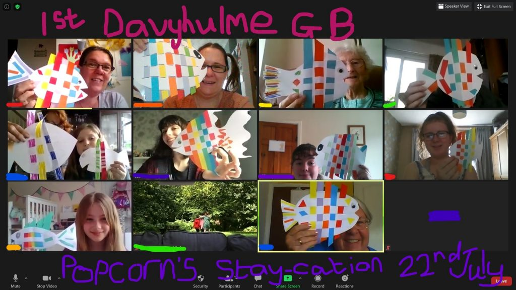 1st Davyhulme meeting online