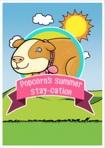 Popcorn's Summer Stay-cation cover