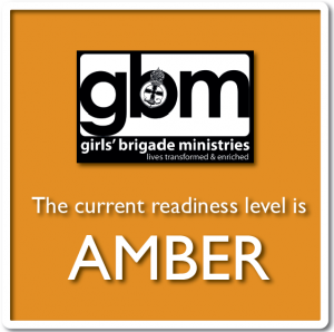 Amber readiness level graphic