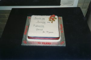 1st Waterlooville anniversary cake