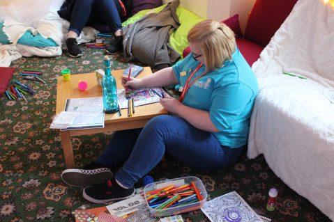 Queen's Award participant writing