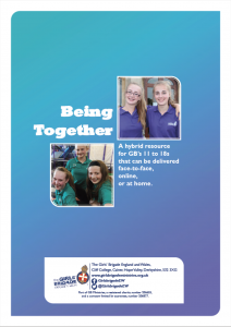 Being Together 10-18s resource cover