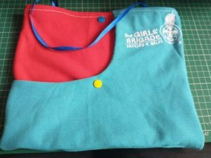 upcycled GB bag