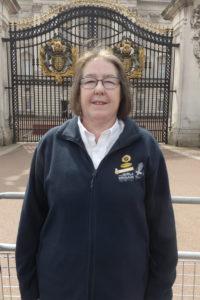 Anne Stapleton at Buckingham Palace
