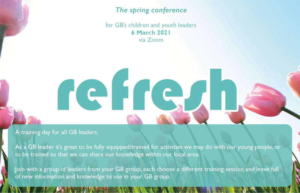 Spring conference - Refresh 2021