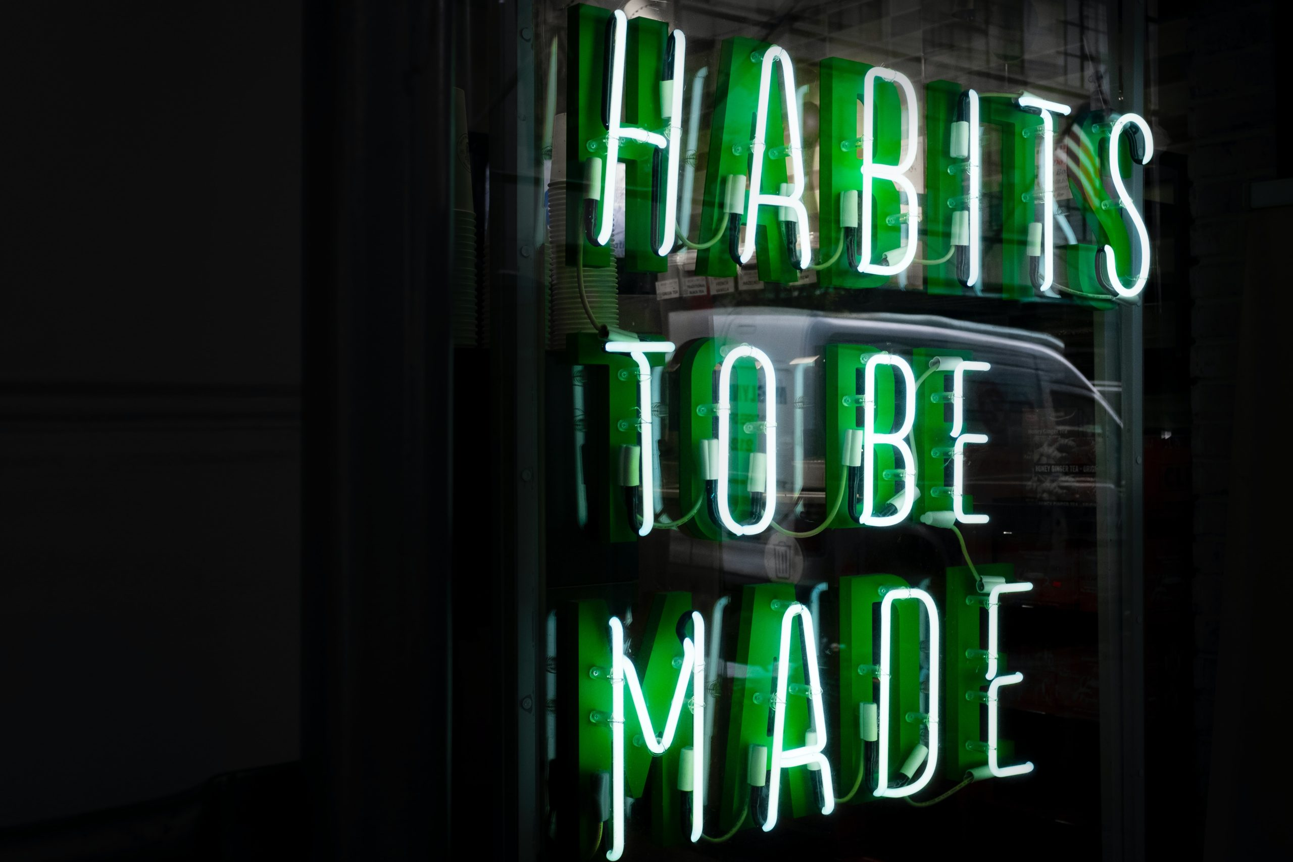 Habits to be made blog cover