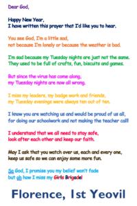Florence prayer