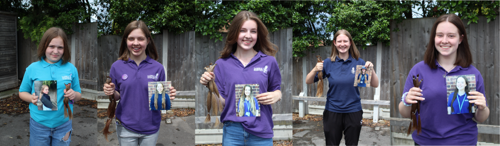 1st Hawkwell girls after haircut montage